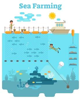 Sea farming