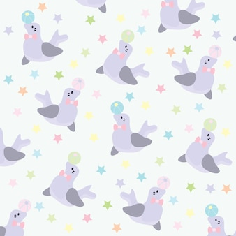 Sea lion pattern