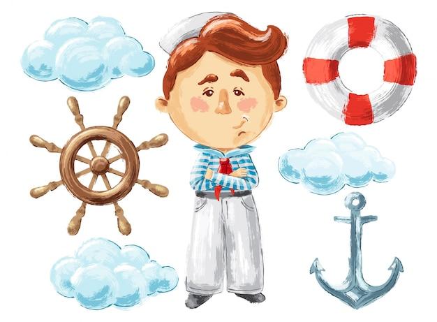 Sea story illustrations