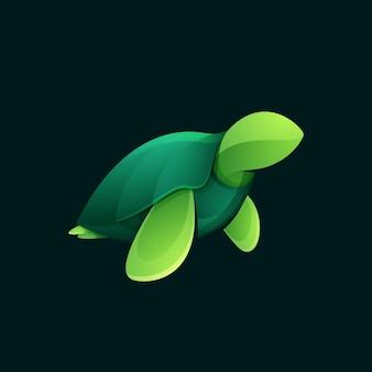 Морская черепаха. животное