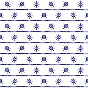 Sea vector seamless pattern. can be used for wallpapers, web page backgrounds