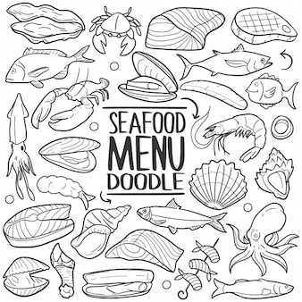 Seafood Animals Menu Restaurant