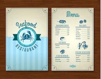 seafood menu vectors photos and psd files free download