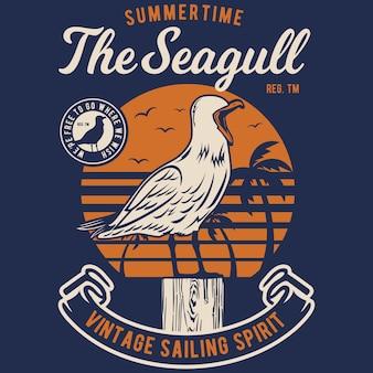 Seagul bird