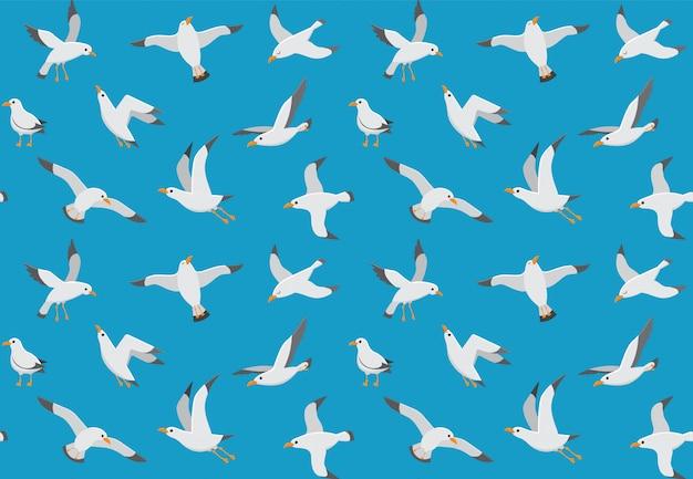 Бесшовные чайки