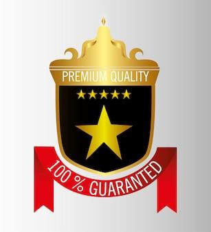 Печать гарантированное качество золота