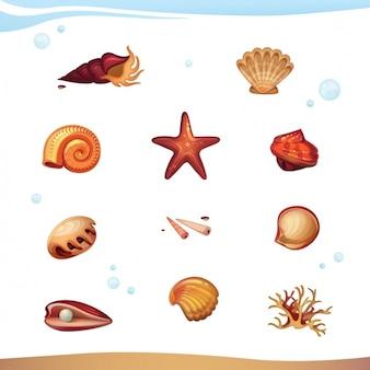 Sealife набор животных