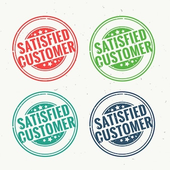 Seals for satisfied customer