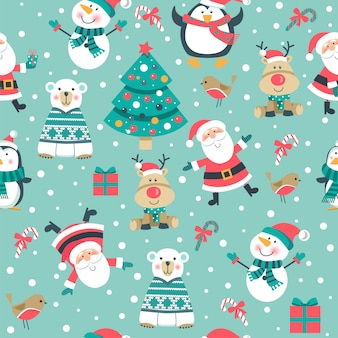 Seamlee christmas pattern.