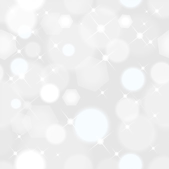 Seamless  abstract christmas background with lights sparkle with soft bokeh