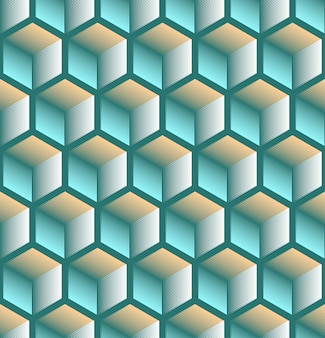 Seamless abstract geometric background