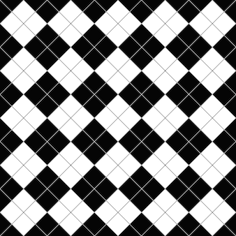 Seamless abstract geometric square pattern background