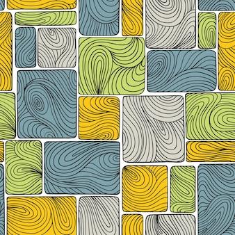 원활한 추상 패턴, 파도입니다.