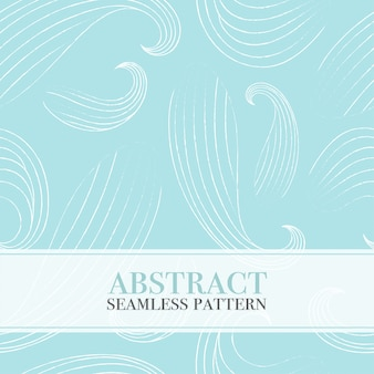 Seamless abstract pattern with waves.