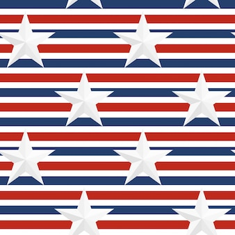 Seamless abstract usa flag pattern