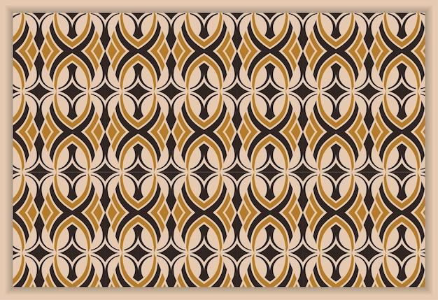 シームレスな抽象的なベクトルの背景茶色と黒のテクスチャグラフィックモダンなパターン
