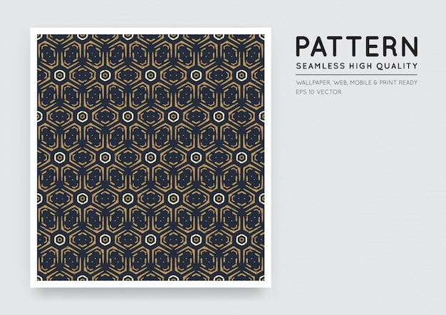 Seamless arabian style abstract pattern
