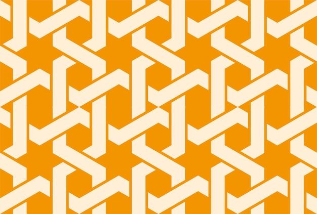 얽힌 패턴으로 원활한 아랍어 장식