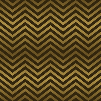 Seamless art deco abstract chevron gold colors