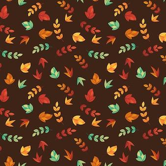 シームレスな紅葉パターン