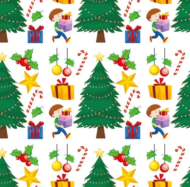 크리스마스 테마로 완벽 한 배경 디자인