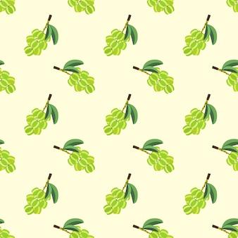 Бесшовные фоновое изображение красочные тропические фрукты звезды крыжовник