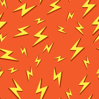 Seamless  background pattern bolt icons.  illustrations.  illustrate.