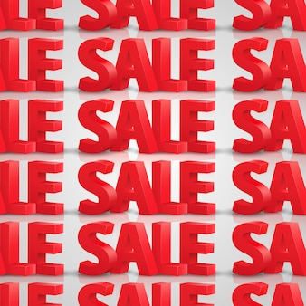 Продажа бесшовного фона. векторная иллюстрация искусства 10eps