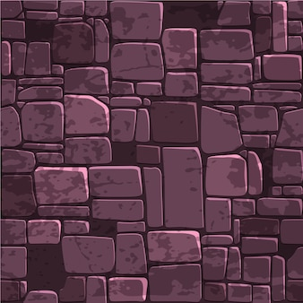 Seamless background texture color stone wall.