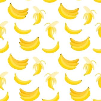 원활한 바나나 패턴, 벡터 일러스트 레이 션