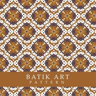 Бесшовный фон модель орнамент батик