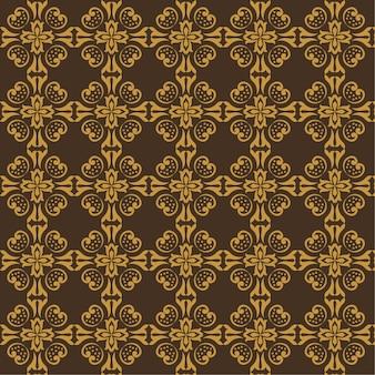 원활한 바틱 패턴 추상적인 배경