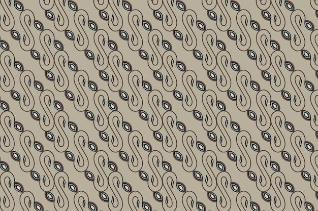 원활한 바틱 패턴 배경