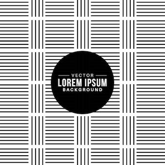 Seamless black stripes checkerboard pattern background