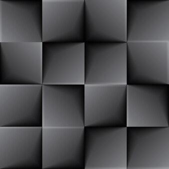 シームレスな黒いタイルの背景