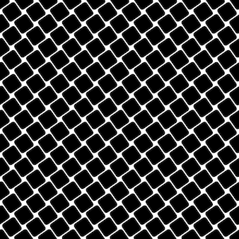 Seamless black and white square pattern - geometrical halftone abstract vector background graphic design