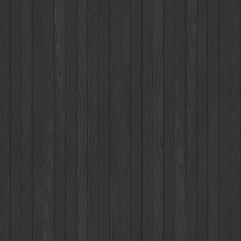 Seamless black wooden background