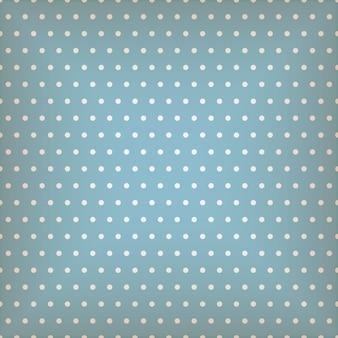 도트와 원활한 블루 패턴