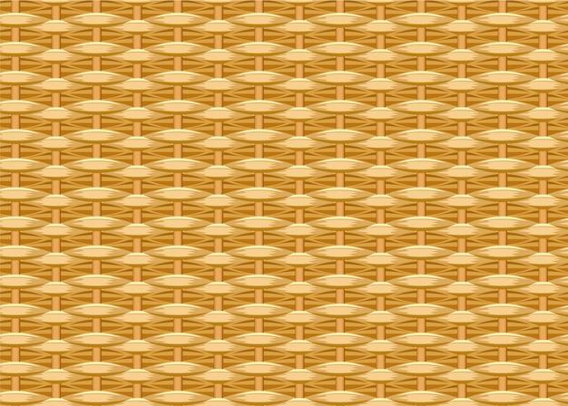 Seamless braided background. wicker straw. woven willow twigs. wicker texture
