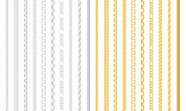 Seamless chain borders