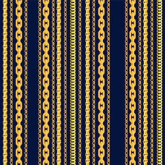 Seamless chain pattern