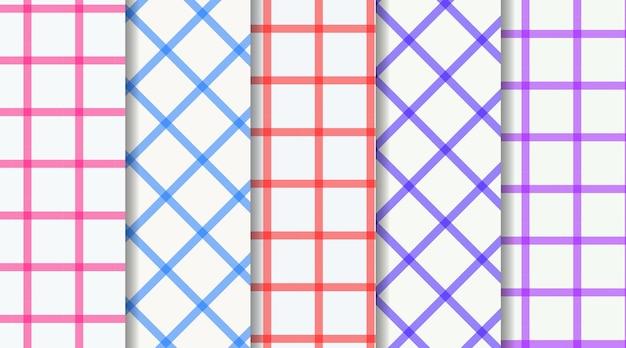 Seamless check window pattern background