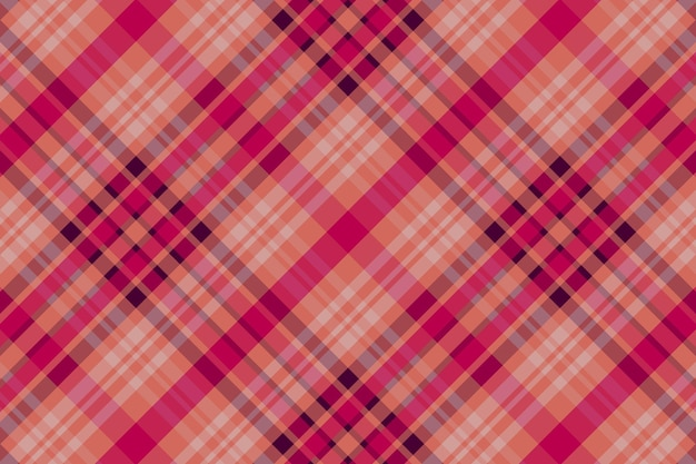 Seamless checkered pattern background. fabric texture. vector illustration.