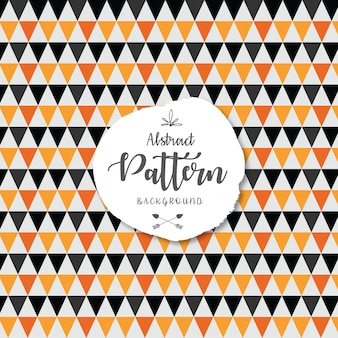 Seamless chevron pattern background with halloween swatches