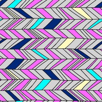 Seamless chevron pattern vintage