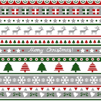 Seamless christmas pattern for decoration