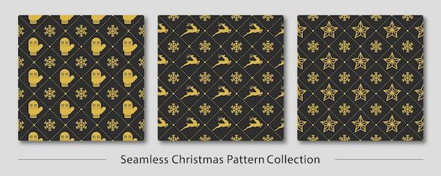 Seamless christmas pattern design
