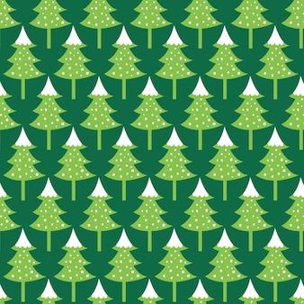 녹색 배경으로 완벽 한 크리스마스 트리