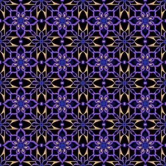 Бесшовные цвета геометрических фигур и линий