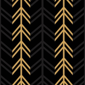 Seamless colorful chevron pattern